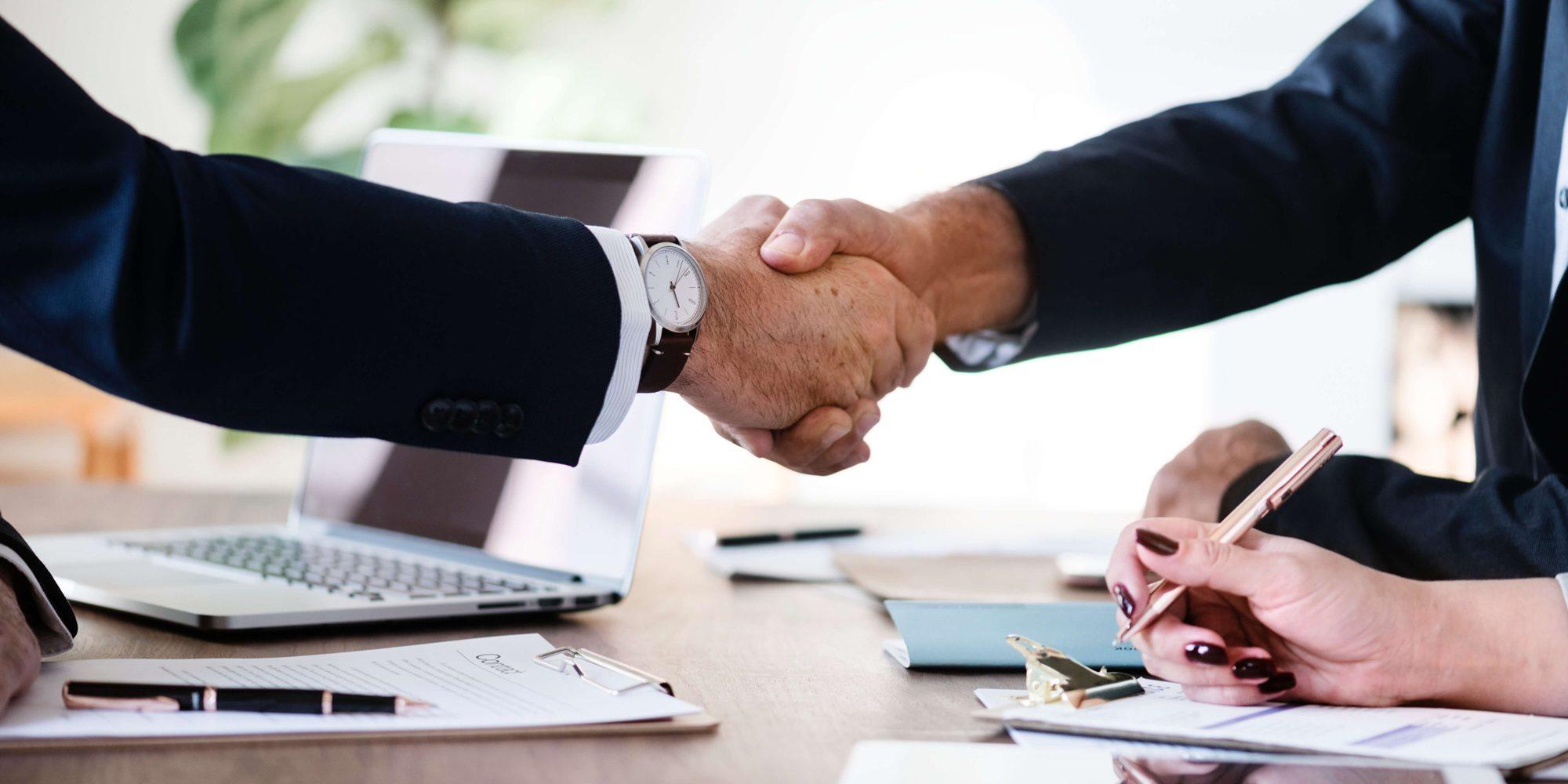 Resources Banner Handshake Gillespie, Prudhon & Associates